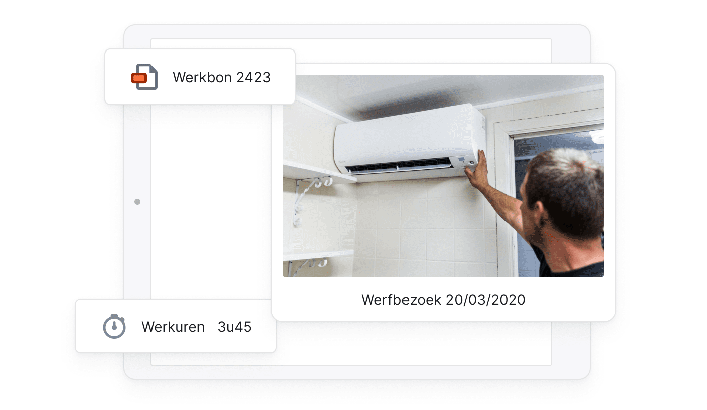 BE NL Builders Digitale mobiele werkbonnen