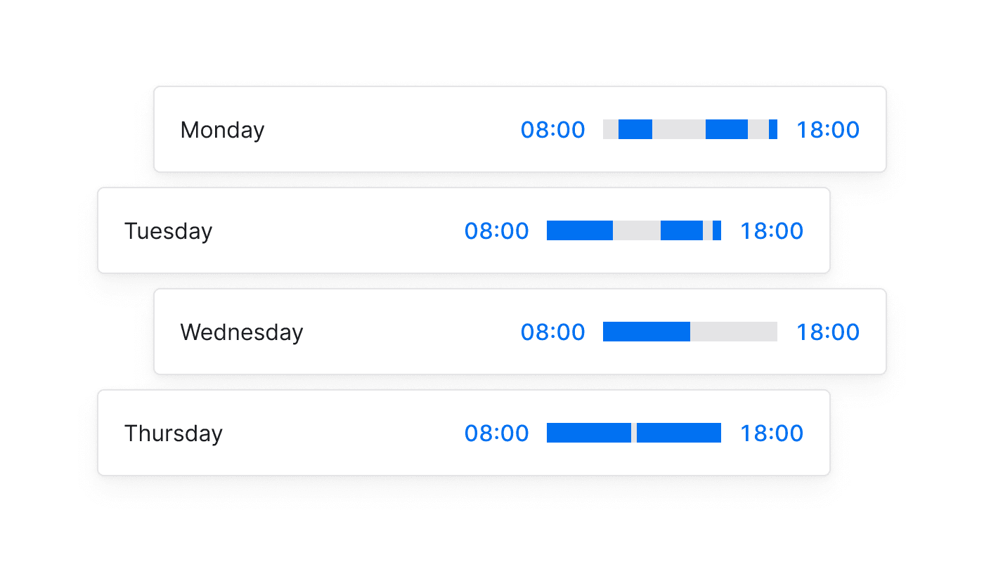 EN Tijdregistratie voor elke taak of vergadering