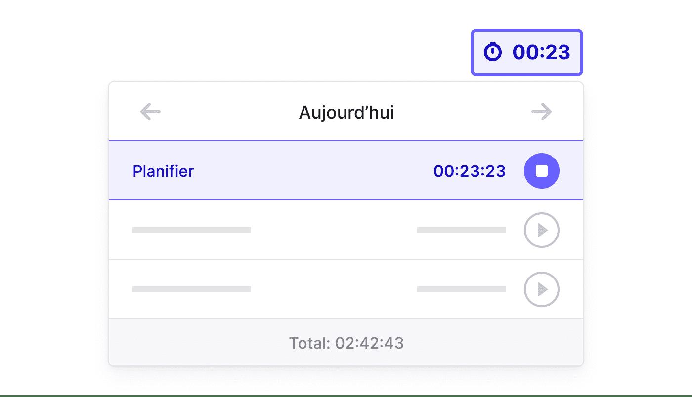 FR FR Registreer nauwgezet met de Time Tracker
