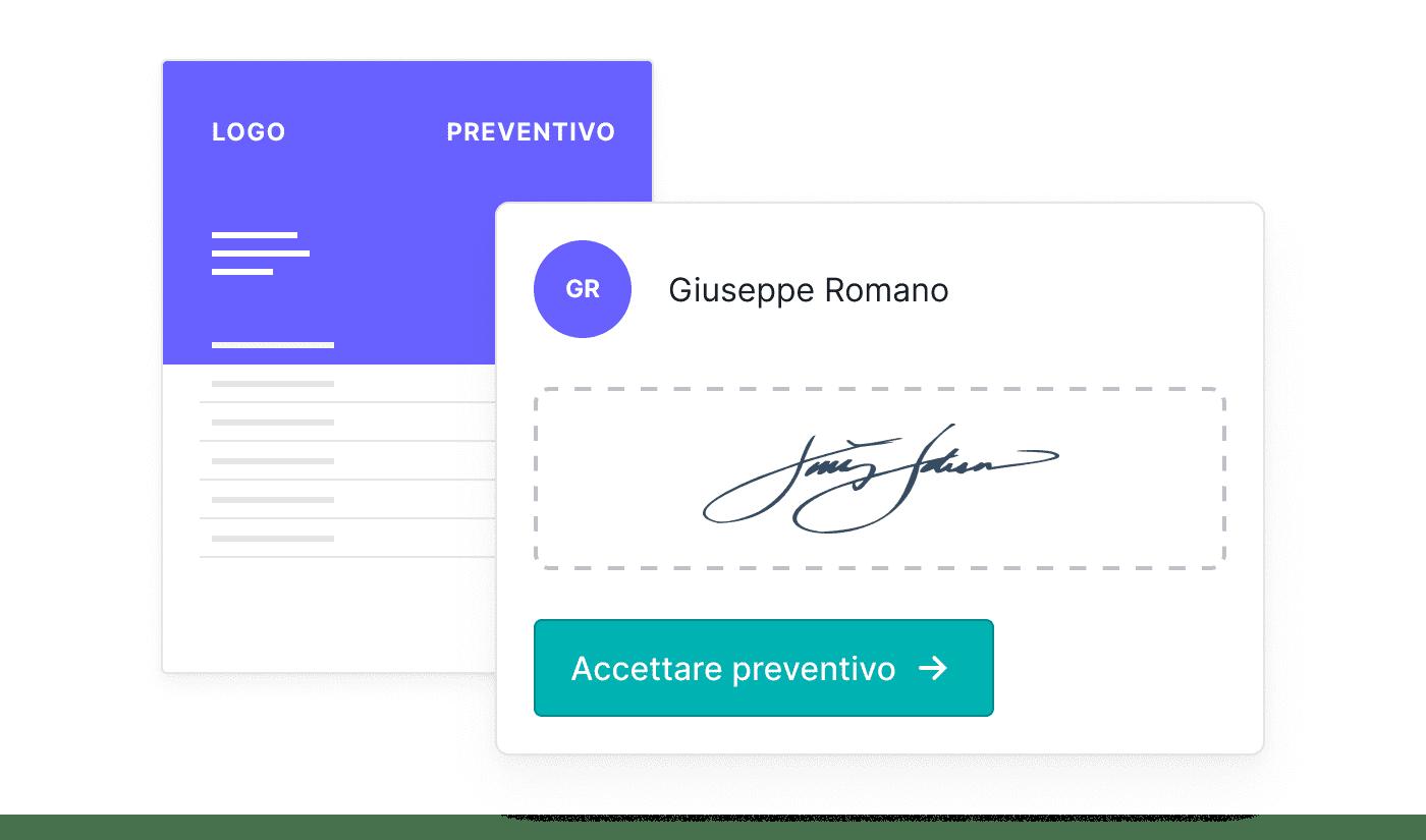 IT Offertes online laten ondertekenen