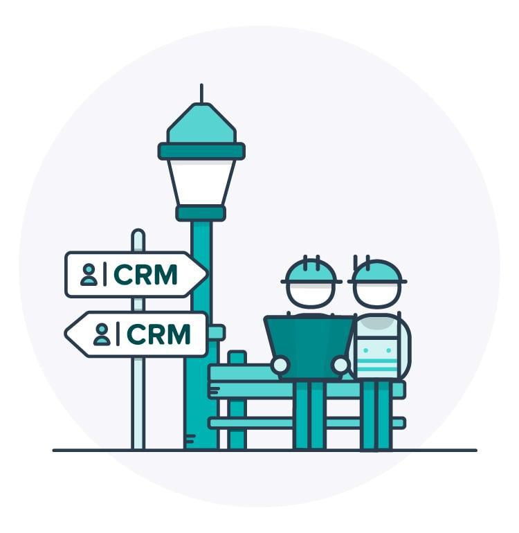 SEO illustrations CRM 05